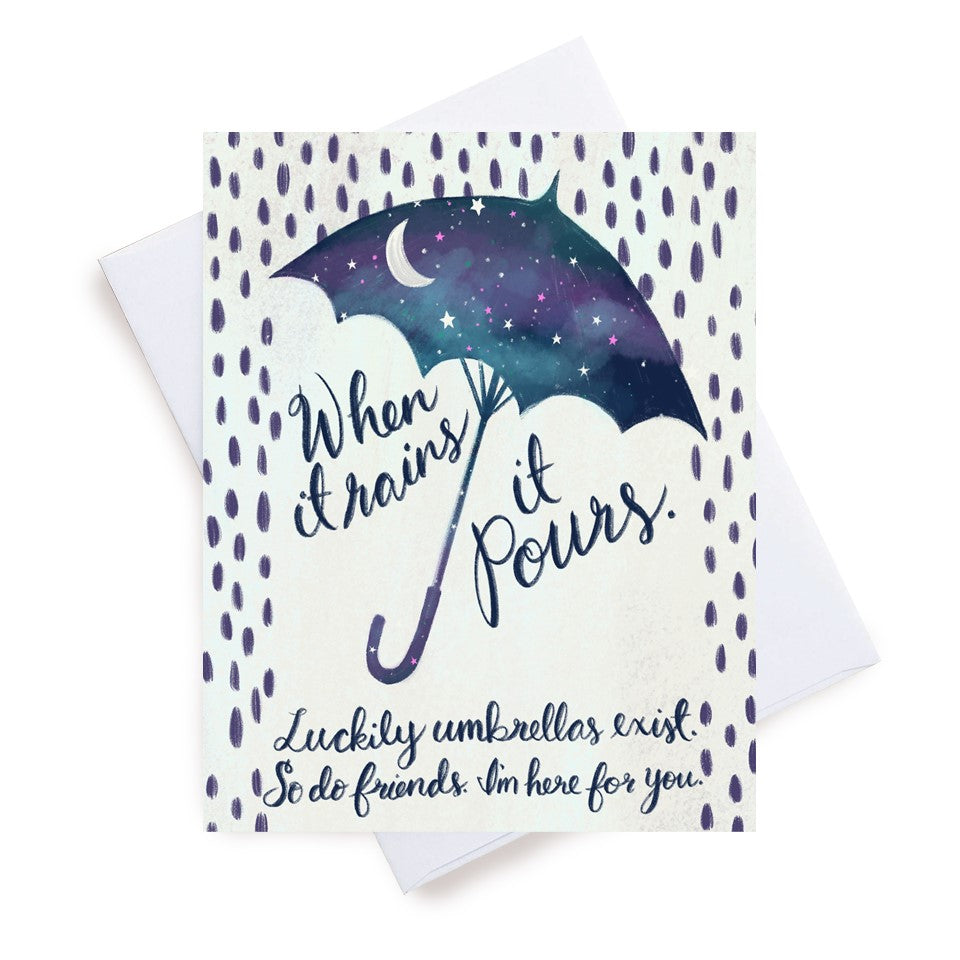 Meaghan Smith Creative - Greeting Card - When It Rains