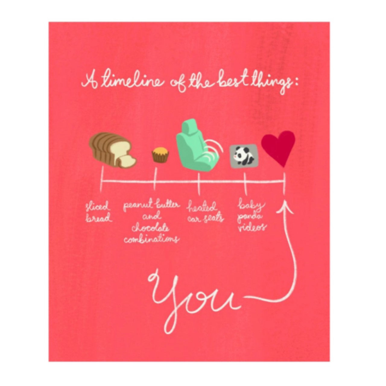 Meaghan Smith Greeting Card - Best Things Since Sliced Bread