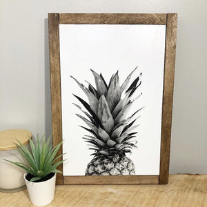 The Diver's Wife - Art Print - Pineapple