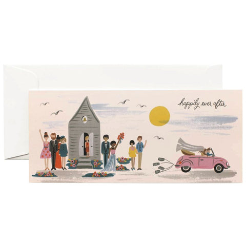Rifle Paper Co. - Greeting Card - Wedding - Happily Ever After - Tin Cans