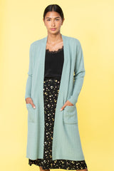 Thea Side-Slit Cardigan