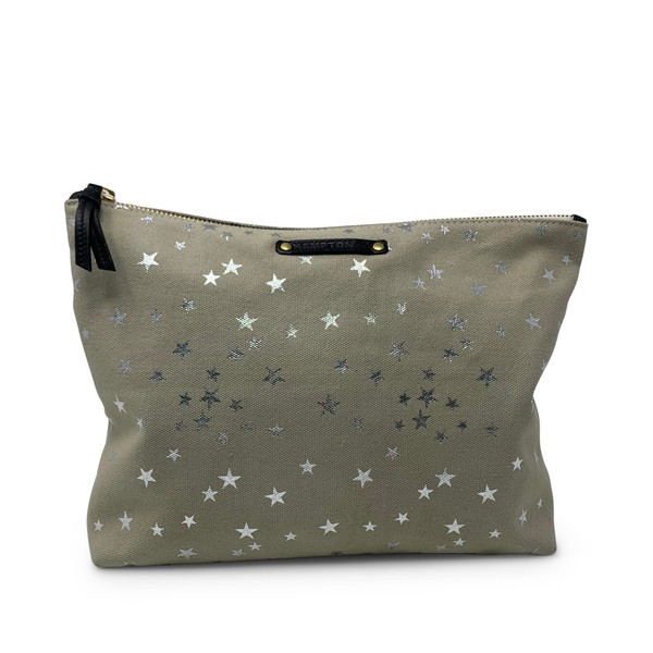 STAR CANVAS POUCH