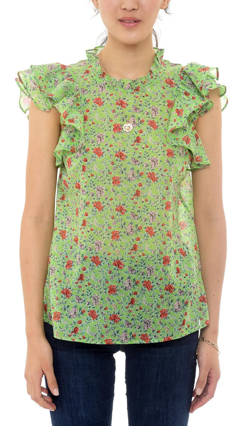 Klara Top Siesta Bud Green
