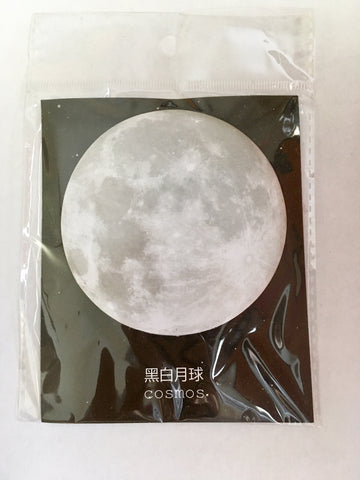Moon Shaped Sticky Notes