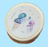 Jellyfish print washi paper tape