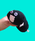 Handmade adorable sock mole plush stuffed animal