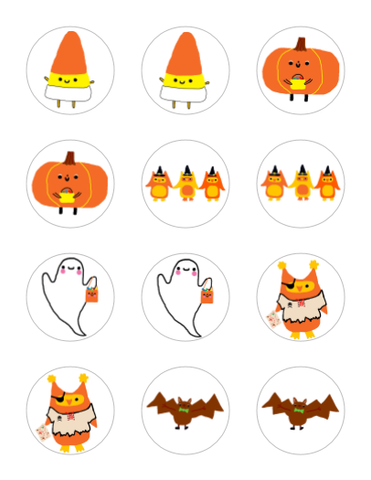 Halloween Stickers - Variety Pack