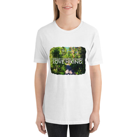 Wesley Chapel Women Love Hiking Florida Nature Hike Outdoors Short-Sleeve Unisex T-Shirt