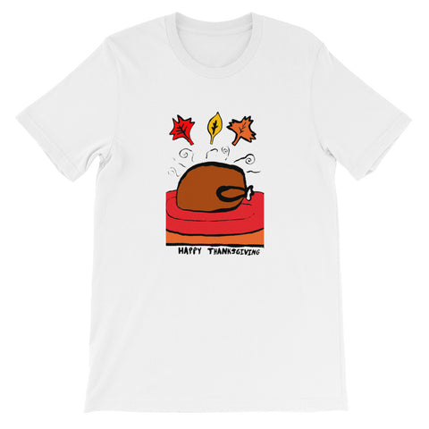Turkey Dinner Short-Sleeve Unisex T-Shirt