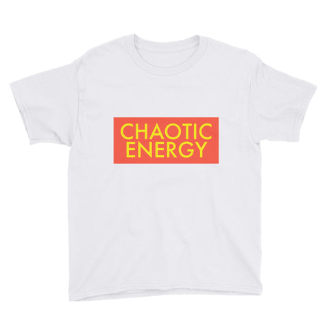 Chaotic Energy Chaos Youth Short Sleeve T-Shirt