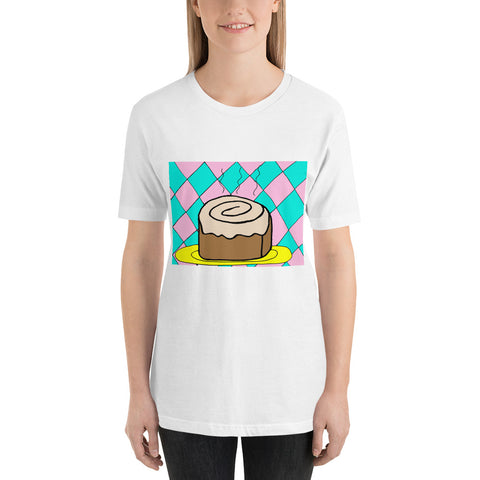 Charming Cinnamon Roll Bakery Dessert Sweet Short-Sleeve Unisex T-Shirt