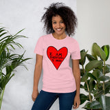 I Am Everything I Need Self Love Yourself Anti Valentines' Day Heart Short-Sleeve Unisex T-Shirt - Red Heart