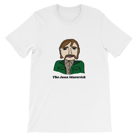 The Jazz Maverick The Mighty Boosh Howard Moon Julian Barratt British Comedy Surrealist Absurdist Short-Sleeve Unisex T-Shirt