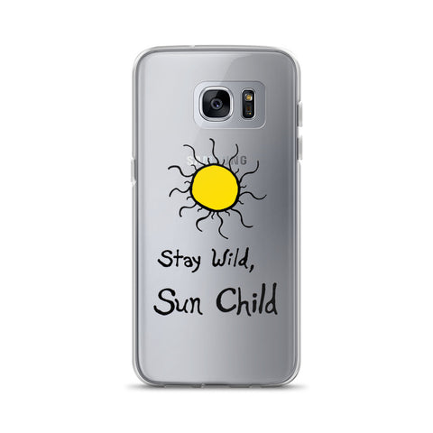 Stay Wild, Sun Child Boho Bohemian Free Spirit Samsung Case