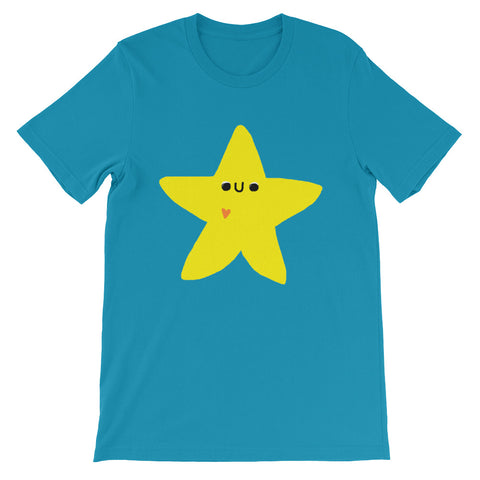 Cute Star Short-Sleeve Unisex T-Shirt