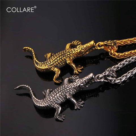 Alligator/Crocodile Pendant Necklace