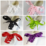 Funky Silk Ribbon Shoelaces - One Pair
