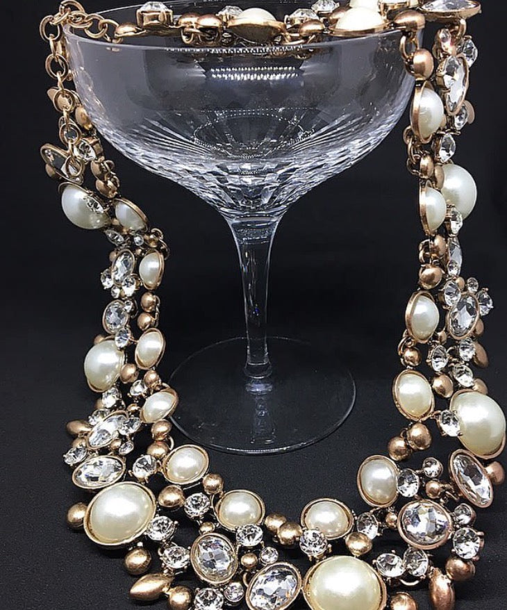 Pearls are a girl's best friend!