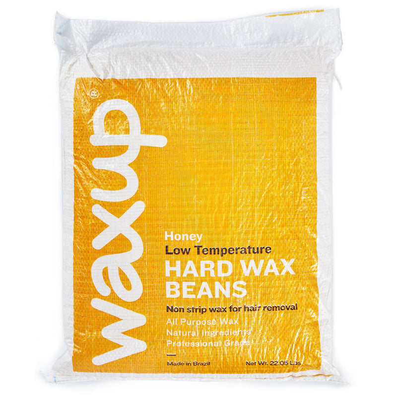 Professional Hard Wax Beans for Hair Removal, Honey Wax Beads for Whole Body, Refill Pearl Wax Beads for Wax Warmers, 22.05 Lbs Bag