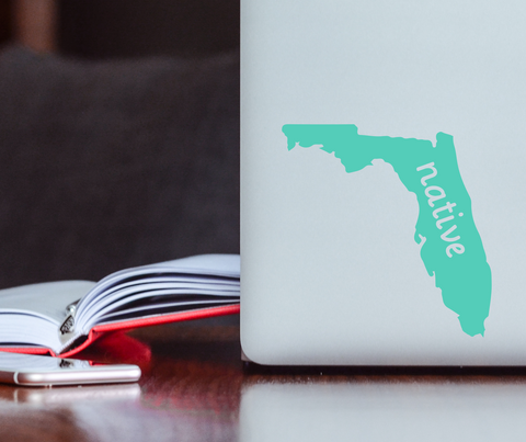 Florida Native Decal
