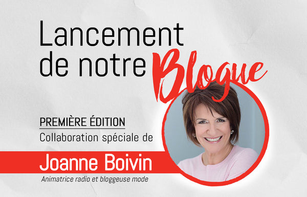 Lancement du Blogue Fillion ! Collaboration spéciale de Joanne Boivin