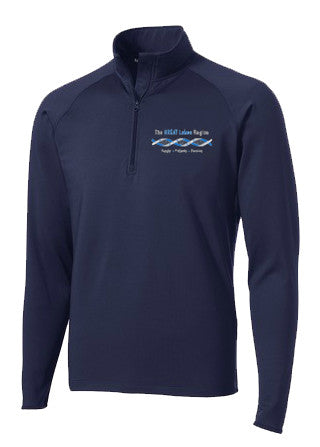 Men's Navy Blue 1/2 Zip Pullover