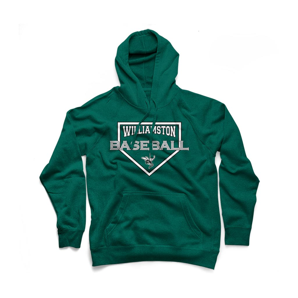 Williamston Youth Diamond Hoodie - Forest Green