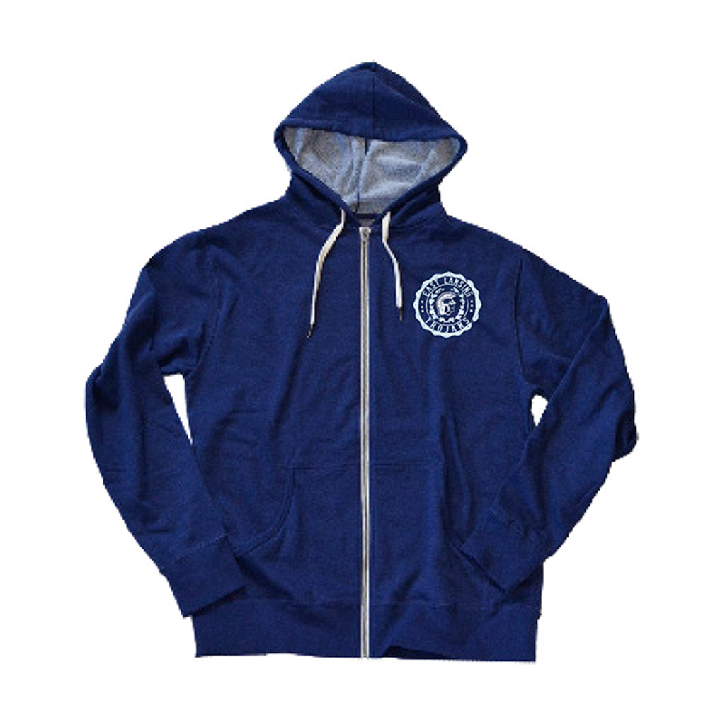 East Lansing Unisex French Terry Zip Up Hoodie
