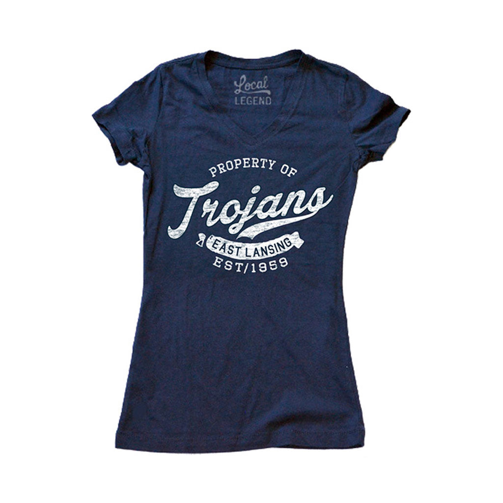 East Lansing Women's V-Neck