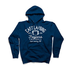 East Lansing Retro Football Hoodie