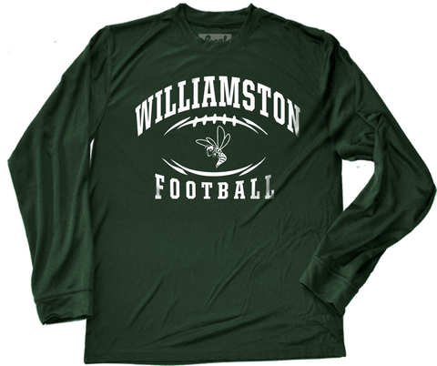 Williamston Football Performance Long Sleeve