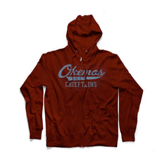 Okemos Men's Zip Up Hoodie