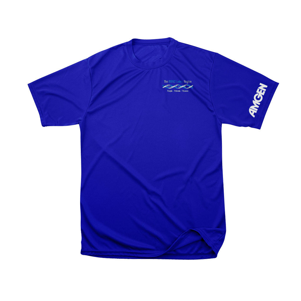 Men's dry fit tee royal blue