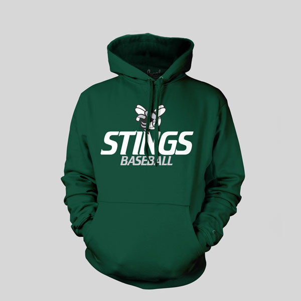 Stings Youth Baseball Hoodie