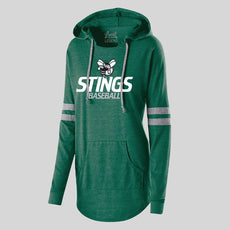 Stings Baseball Women's Pullover Hoodie