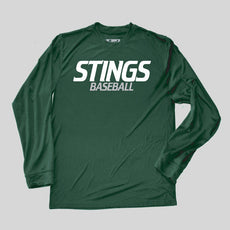 Stings Youth Baseball Performance Long Sleeve Tee