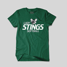 Lady Stings Softball T-Shirt