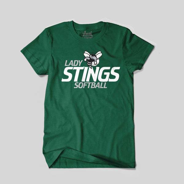 Lady Stings Youth Softball T-Shirt