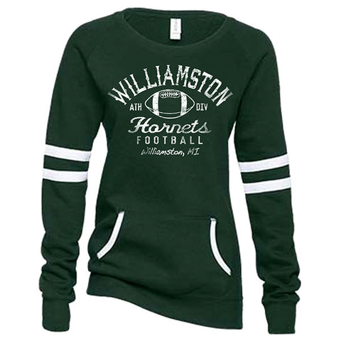 Williamston Football Women's Varisty Fleece Crew Neck