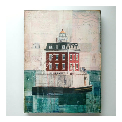 New London Ledge Lighthouse - JC Spock Art