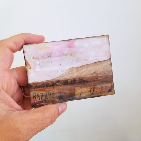 "Grand Junction, (ACEO) 2.5"" x 3.5"" mini"
