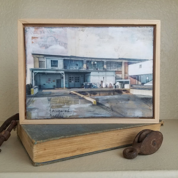"Back Dock, 5"" x 7"" (Framed)"