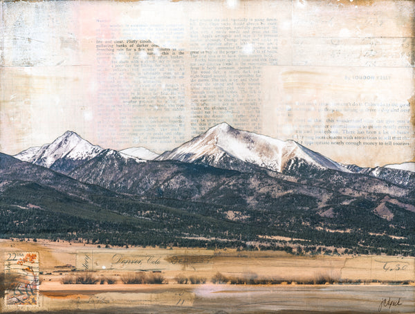 "From San Luis Valley, 9"" x 12"" (framed)"