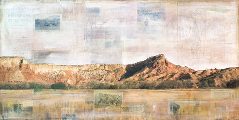 "Ghost Ranch Views, 24"" x 48"""