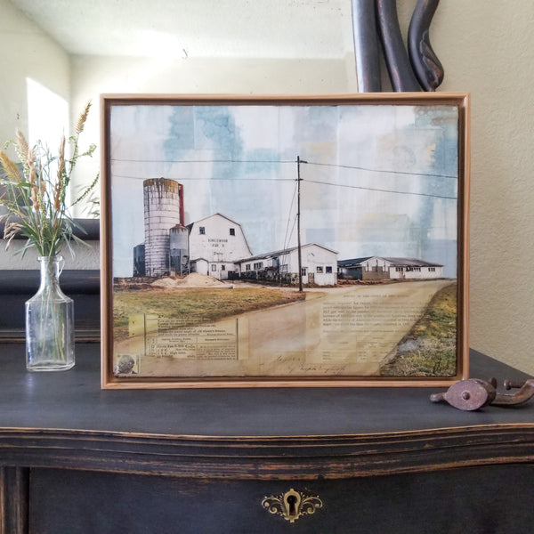 "Kingswood Farms, 11"" x 14"" (Framed)"