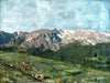 "Bighorn & Big Views, 36"" x 48"""