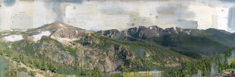 "Rocky Mountain Jim, 12"" x 36"""