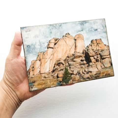 "Rocks of Vedauwoo, 5"" x 7"" (Framed)"
