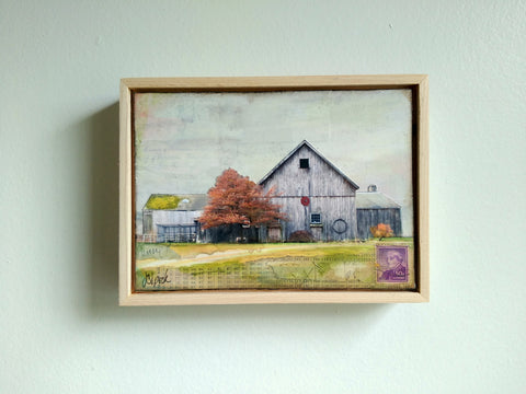 "Homestead, 5"" x 7"" - J.C. Spock"