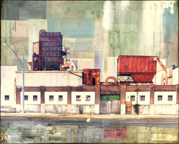 "Industrial Row, 16"" x 20"" - J.C. Spock"